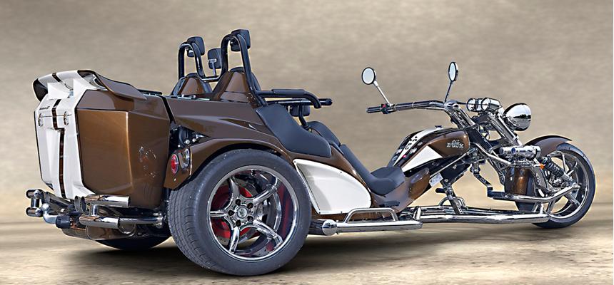 Boom Trike Mustang Family Slider 2