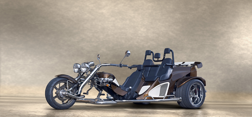 Boom Trike Mustang Family Slider