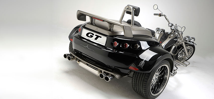 rewaco RF1 GT Heck